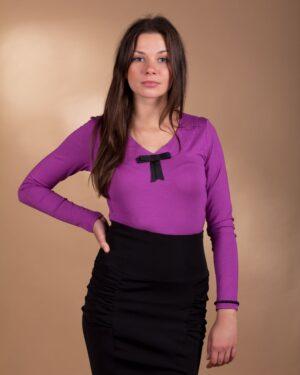 Bluzka Lili 3037 fioletowa