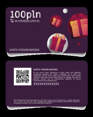 Karta Podarunkowa 100PLN