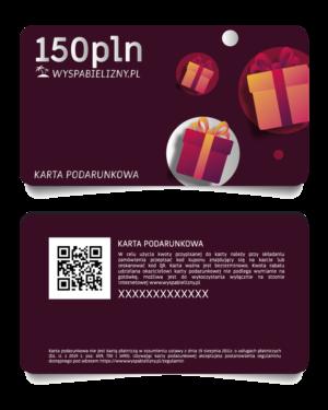 Karta Podarunkowa 150PLN