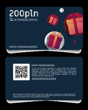 Karta Podarunkowa 200PLN