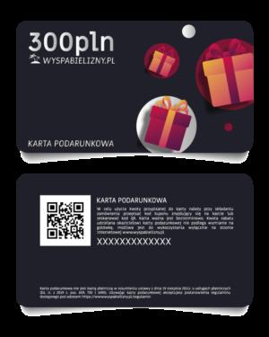 Karta Podarunkowa 300PLN