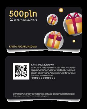 Karta Podarunkowa 500PLN