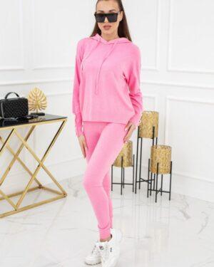 Komplet dzianinowy Kim Pearl Buttons PU1121 Pink