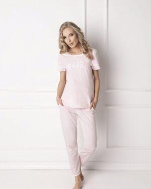 Piżama Babe Long Pink