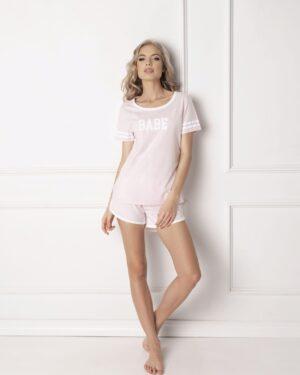 Piżama Babe Short Pink