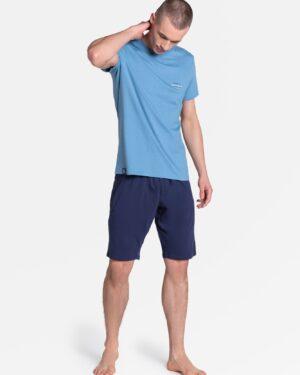 Piżama Duty 38881-95X Niebiesko-Granatowa
