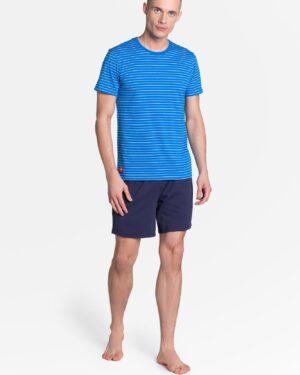 Piżama Lane 38873-55X Niebiesko-Granatowa