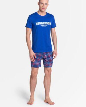 Piżama Lid 38874-55X Niebieska