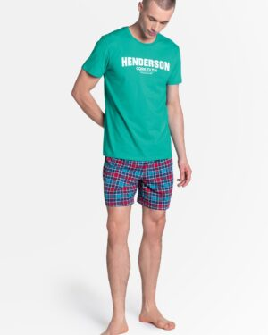 Piżama Lid 38874-69X Zielono-Niebieska