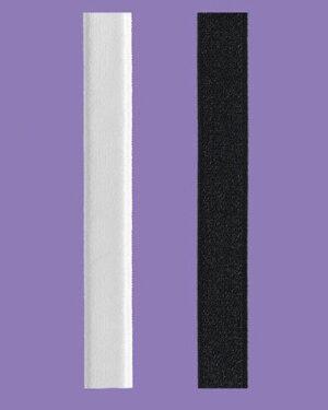Ramiączka RB 275 Czarne 12 mm