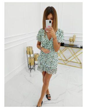 Sukienka Amalfi Fowers ST-533 Mint
