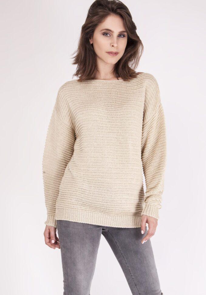 Sweter Beatrix SWE 097 Beżowy