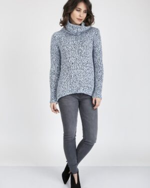 Sweter Nicola SWE 103 Niebieski