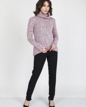 Sweter Nicola SWE 103 Różowy