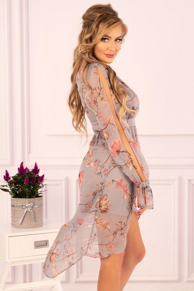 Sukienka Cadineria Szara 3