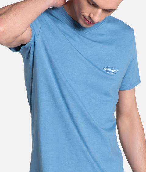 Piżama Duty 38881-95X Niebiesko-Granatowa 2
