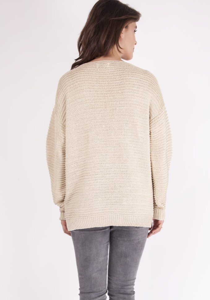 Sweter Beatrix SWE 097 Beżowy 2