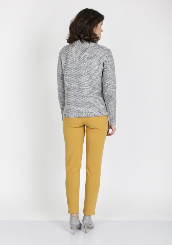 Sweter Estelle SWE 121 Szary 2