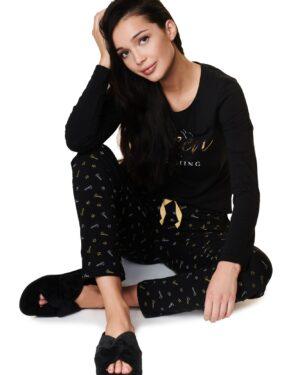 Pantofle Zazzy 39314-99X Czarne