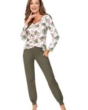 Piżama Mila Khaki